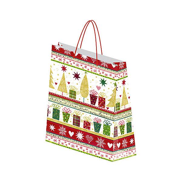 Пакет бумажный подарочный.RegalissimiУпаковка новогоднего подарка<br>Характеристики:<br><br>• вес:  61г.;<br>• материал:  бумага;<br>• размер:28х34х9см.;<br>• для детей в возрасте: от 3 лет.;<br>• страна производитель: Россия.<br><br>Подарочный бумажный пакет бренда «Regalissimi» (Регалисими) Новогодней тематики станет прекрасным дополнением для любого подарка.Он создан из высококачественных, экологически чистых материалов, что очень важно для детских товаров.<br><br> Оформление для подарочной упаковки разработано итальянскими дизайнерами и пользуется неизменно высоким спросом на протяжении нескольких лет. Коллекции созданы с учётом цветовой гармонизации ряда, что позволяет оформлять подарки в едином стиле. <br>                  <br>Подарочный бумажный пакет, можно купить в нашем интернет-магазине.<br>Ширина мм: 2; Глубина мм: 280; Высота мм: 340; Вес г: 61; Возраст от месяцев: 36; Возраст до месяцев: 2147483647; Пол: Унисекс; Возраст: Детский; SKU: 7377665;