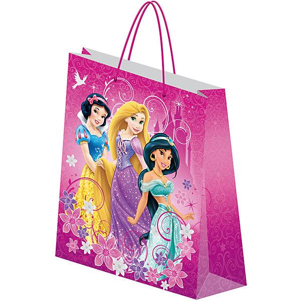 Пакет подарочный, PrincessДетские подарочные пакеты<br>Характеристики:<br><br>• вес:  64г.;<br>• материал:  бумага;<br>• размер:28х34х9см.;<br>• для детей в возрасте: от 3 лет.;<br>• страна производитель: Россия.<br><br>Подарочный бумажный пакет бренда «Regalissimi» (Регалисими)из серии «Disney Princess»(Дисней Принцесс) станет прекрасным дополнением для любого детского подарка.Он создан из высококачественных, экологически чистых материалов, что очень важно для детских товаров.<br><br> Оформление для подарочной упаковки разработано итальянскими дизайнерами и пользуется неизменно высоким спросом на протяжении нескольких лет. Коллекции созданы с учётом цветовой гармонизации ряда, что позволяет оформлять подарки в едином стиле.<br>                   <br>Подарочный бумажный пакет, можно купить в нашем интернет-магазине.<br>Ширина мм: 2; Глубина мм: 280; Высота мм: 340; Вес г: 64; Возраст от месяцев: 36; Возраст до месяцев: 96; Пол: Женский; Возраст: Детский; SKU: 7377668;