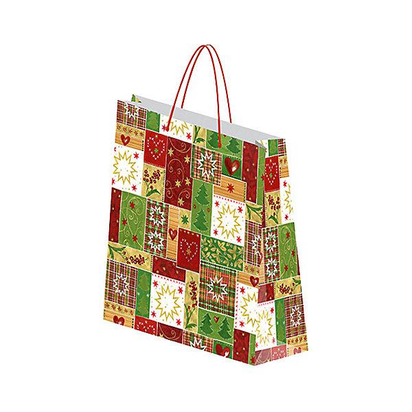 Пакет бумажный подарочный.RegalissimiУпаковка новогоднего подарка<br>Характеристики:<br><br>• вес:  97г.;<br>• материал:  бумага;<br>• размер:33х43х10см.;<br>• для детей в возрасте: от 3 лет.;<br>• страна производитель: Россия.<br><br>Подарочный бумажный пакет бренда «Regalissimi» (Регалисими) станет прекрасным дополнением для любого подарка.Он создан из высококачественных, экологически чистых материалов, что очень важно для детских товаров.<br><br> Оформление для подарочной упаковки разработано итальянскими дизайнерами и пользуется неизменно высоким спросом на протяжении нескольких лет. Коллекции созданы с учётом цветовой гармонизации ряда, что позволяет оформлять подарки в едином стиле. <br>                  <br>Подарочный бумажный пакет, можно купить в нашем интернет-магазине.<br>Ширина мм: 2; Глубина мм: 330; Высота мм: 430; Вес г: 97; Возраст от месяцев: 36; Возраст до месяцев: 2147483647; Пол: Унисекс; Возраст: Детский; SKU: 7377672;
