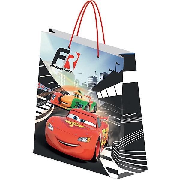 Пакет подарочный ТачкиДетские подарочные пакеты<br>Характеристики:<br><br>• вес:  100г.;<br>• материал:  бумага;<br>• размер:33х43х10см.;<br>• для детей в возрасте: от 3 лет.;<br>• страна производитель: Россия.<br><br>Подарочный бумажный пакет бренда «Regalissimi» (Регалисими) из серии «Disney Cars»(Дисней Кар)  станет прекрасным дополнением для любого детского подарка.Он создан из высококачественных, экологически чистых материалов, что очень важно для детских товаров.<br><br> Оформление для подарочной упаковки разработано итальянскими дизайнерами и пользуется неизменно высоким спросом на протяжении нескольких лет. Коллекции созданы с учётом цветовой гармонизации ряда, что позволяет оформлять подарки в едином стиле.  <br>                 <br>Подарочный бумажный пакет, можно купить в нашем интернет-магазине.<br>Ширина мм: 2; Глубина мм: 330; Высота мм: 430; Вес г: 100; Возраст от месяцев: 36; Возраст до месяцев: 96; Пол: Мужской; Возраст: Детский; SKU: 7377678;