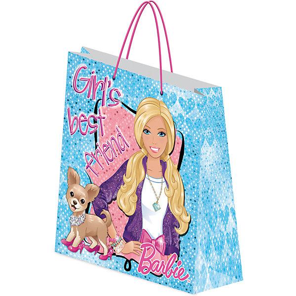 Пакет подарочный.BarbieДетские подарочные пакеты<br>Характеристики:<br><br>• вес:  100г.;<br>• материал:  бумага;<br>• размер:33х43х10см.;<br>• для детей в возрасте: от 3 лет.;<br>• страна производитель: Россия.<br><br>Подарочный бумажный пакет бренда «Regalissimi» (Регалисими)из серии «Disney Barbie »(Дисней Барби) станет прекрасным дополнением для любого детского подарка.Он создан из высококачественных, экологически чистых материалов, что очень важно для детских товаров.<br><br> Оформление для подарочной упаковки разработано итальянскими дизайнерами и пользуется неизменно высоким спросом на протяжении нескольких лет. Коллекции созданы с учётом цветовой гармонизации ряда, что позволяет оформлять подарки в едином стиле. <br>                  <br>Подарочный бумажный пакет, можно купить в нашем интернет-магазине.<br>Ширина мм: 2; Глубина мм: 330; Высота мм: 430; Вес г: 100; Возраст от месяцев: 72; Возраст до месяцев: 144; Пол: Женский; Возраст: Детский; SKU: 7377679;