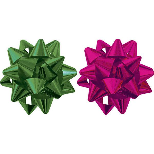 Набор из 2-х металлизированых бантов-цветков (малых).Новогодние подарочные ленты<br>Характеристики:<br><br>• вес:  25г.;<br>• материал:  металлизированное покрытие;<br>• размер упаковки: 8х15х1см.;<br>• для детей в возрасте: от 3 лет.;<br>• страна производитель: Россия.<br><br>Набор металлизированных бантов-цветков(малых) зелёного и красного цвета, бренда «Regalissimi» (Регалисими) станет прекрасным украшением упаковки любого детского подарка.Он создан из высококачественных, экологически чистых материалов, что очень важно для детских товаров.<br><br> Оформление для подарочной упаковки разработано итальянскими дизайнерами и пользуется неизменно высоким спросом на протяжении нескольких лет. Коллекции созданы с учётом цветовой гармонизации ряда, что позволяет оформлять подарки в едином стиле. <br>                  <br>Набор металлизированных бантов-цветков(малых), можно купить в нашем интернет-магазине.<br>Ширина мм: 80; Глубина мм: 150; Высота мм: 10; Вес г: 25; Возраст от месяцев: 36; Возраст до месяцев: 2147483647; Пол: Унисекс; Возраст: Детский; SKU: 7377683;