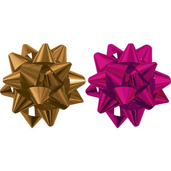 Бант-звезда, 2 штуки RegalissimiУпаковка новогоднего подарка<br>Характеристики:<br><br>• вес: 10г.;<br>• материал:  металлизированное покрытие;<br>• размер упаковки: 9х9х0,5см.;<br>• для детей в возрасте: от 3 лет.;<br>• страна производитель: Россия.<br><br>Набор металлизированных бантов-звёзд золотого и красного цвета, бренда «Regalissimi» (Регалисими) станет прекрасным украшением упаковки любого детского подарка.Он создан из высококачественных, экологически чистых материалов, что очень важно для детских товаров.<br><br> Оформление для подарочной упаковки разработано итальянскими дизайнерами и пользуется неизменно высоким спросом на протяжении нескольких лет. Коллекции созданы с учётом цветовой гармонизации ряда, что позволяет оформлять подарки в едином стиле.  <br>                 <br>Набор металлизированных бантов-звёзд, можно купить в нашем интернет-магазине.<br><br>Ширина мм: 90<br>Глубина мм: 90<br>Высота мм: 5<br>Вес г: 10<br>Возраст от месяцев: 36<br>Возраст до месяцев: 2147483647<br>Пол: Унисекс<br>Возраст: Детский<br>SKU: 7377692