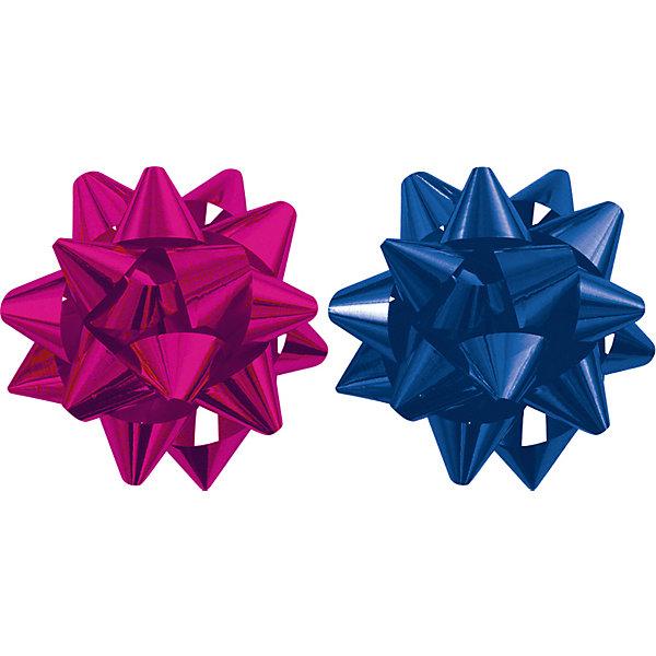 Бант-звезда, 2 штуки в PP пакете с подвесом (красный, синий)Упаковка новогоднего подарка<br>Характеристики:<br><br>• вес: 10г.;<br>• материал:  фольга;<br>• размер упаковки: 9х9х0,5см.;<br>• для детей в возрасте: от 3 лет.;<br>• страна производитель: Россия.<br><br>Набор металлизированных бантов-звёзд синего и красного цвета, в пакете с подвесом бренда «Regalissimi» (Регалисими) станет прекрасным украшением упаковки любого детского подарка.Он создан из высококачественных, экологически чистых материалов, что очень важно для детских товаров.<br><br> Оформление для подарочной упаковки разработано итальянскими дизайнерами и пользуется неизменно высоким спросом на протяжении нескольких лет. Коллекции созданы с учётом цветовой гармонизации ряда, что позволяет оформлять подарки в едином стиле.   <br>                <br>Набор металлизированных бантов-звёзд, можно купить в нашем интернет-магазине.<br>Ширина мм: 90; Глубина мм: 90; Высота мм: 5; Вес г: 10; Возраст от месяцев: 36; Возраст до месяцев: 2147483647; Пол: Унисекс; Возраст: Детский; SKU: 7377694;