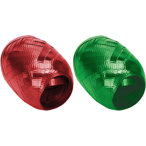 Набор из 2-х упаковочных металлизированных лент (золото, зеленый)Упаковка новогоднего подарка<br>Характеристики:<br><br>• вес: 9г.;<br>• материал: металлизированное покрытие;<br>• размер упаковки: 13х10х3см.;<br>• для детей в возрасте: от 3 лет.;<br>• страна производитель: Россия.<br><br>Набор из двух мотков металлизированной ленты красного и зелёного цвета, бренда «Regalissimi» (Регалисими) станет прекрасным украшением упаковки любого детского подарка.Он создан из высококачественных, экологически чистых материалов, что очень важно для детских товаров.<br><br> Оформление для подарочной упаковки разработано итальянскими дизайнерами и пользуется неизменно высоким спросом на протяжении нескольких лет. Коллекции созданы с учётом цветовой гармонизации ряда, что позволяет оформлять подарки в едином стиле. <br>                  <br>Набор металлизированной ленты, можно купить в нашем интернет-магазине.<br>Ширина мм: 130; Глубина мм: 100; Высота мм: 30; Вес г: 10; Возраст от месяцев: 36; Возраст до месяцев: 2147483647; Пол: Унисекс; Возраст: Детский; SKU: 7377699;