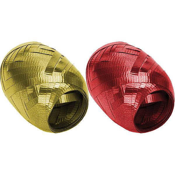 Набор из 2-х упаковочных металлизированных лент.  RegalissimiНовогодние подарочные ленты<br>Характеристики:<br><br>• вес: 9г.;<br>• материал: металлизированное покрытие;<br>• размер упаковки: 13х10х3см.;<br>• для детей в возрасте: от 3 лет.;<br>• страна производитель: Россия.<br>Набор из двух мотков металлизированной ленты золотого и красного цвета, бренда «Regalissimi» (Регалисими) станет прекрасным украшением упаковки любого детского подарка.Он создан из высококачественных, экологически чистых материалов, что очень важно для детских товаров.<br><br> Оформление для подарочной упаковки разработано итальянскими дизайнерами и пользуется неизменно высоким спросом на протяжении нескольких лет. Коллекции созданы с учётом цветовой гармонизации ряда, что позволяет оформлять подарки в едином стиле. <br>                  <br>Набор металлизированной ленты, можно купить в нашем интернет-магазине.<br>Ширина мм: 130; Глубина мм: 100; Высота мм: 30; Вес г: 9; Возраст от месяцев: 36; Возраст до месяцев: 2147483647; Пол: Унисекс; Возраст: Детский; SKU: 7377702;