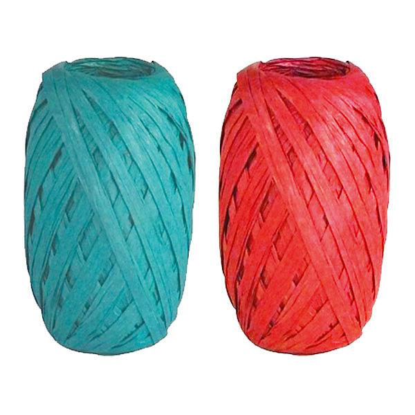 Набор из 2-х упаковочных лент-коконов, рафияНовогодние подарочные ленты<br>Характеристики:<br><br>• вес: 20г.;<br>• материал: металлизированное покрытие;<br>• размер упаковки: 4х10х15см.;<br>• для детей в возрасте: от 3 лет.;<br>• страна производитель: Россия.<br><br>Набор из двух мотков упаковочных лент-коконов рафия синего и красного цвета, бренда «Regalissimi» (Регалисими) станет прекрасным украшением упаковки любого детского подарка.Он создан из высококачественных, экологически чистых материалов, что очень важно для детских товаров.<br><br> Оформление для подарочной упаковки разработано итальянскими дизайнерами и пользуется неизменно высоким спросом на протяжении нескольких лет. Коллекции созданы с учётом цветовой гармонизации ряда, что позволяет оформлять подарки в едином стиле.    <br>               <br>Набор упаковочной ленты-кокона рафия, можно купить в нашем интернет-магазине.<br>Ширина мм: 40; Глубина мм: 100; Высота мм: 150; Вес г: 20; Возраст от месяцев: 36; Возраст до месяцев: 2147483647; Пол: Унисекс; Возраст: Детский; SKU: 7377708;