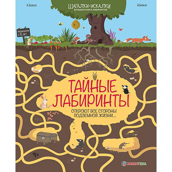 Большая книга лабиринтов Тайные лабиринтыПодготовка к школе<br>Характеристики:<br><br>• возраст: от 6 лет;<br>• мягкая обложка;<br>• количество страниц: 32;<br>• размер: 30х24,7 см;<br>• вес: 170 гр.;<br>• автор: Карин Бальзо, Антуан Бальзо;<br>• автор иллюстраций: Гал Вайзман;<br>• год выпуска: 2016;<br>• издательство: ACT-ПРЕСС, «Хоббитека».<br><br>Увлекательная книжка серии «Шагалки-искалки» поглотит все внимание ребенка на долгое время. 13 лабиринтов с интересными фактами откроют ребенку мир географии. Красочная книга развивает фантазию и логическое мышление, улучшает эрудицию и все это в игровой форме.<br><br>Большую книгу лабиринтов «Тайные лабиринты» можно купить в нашем интернет-магазине.<br><br>Ширина мм: 300<br>Глубина мм: 247<br>Высота мм: 3<br>Вес г: 170<br>Возраст от месяцев: 72<br>Возраст до месяцев: 144<br>Пол: Унисекс<br>Возраст: Детский<br>SKU: 7378125