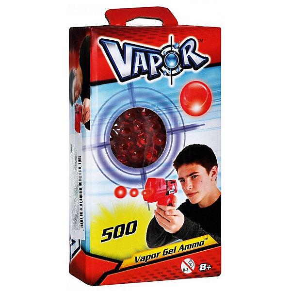 Пули для бластеров Vapor 500 шт., красныеИгрушечные пистолеты и бластеры<br>Характеристики:<br><br>• возраст: от 8 лет<br>• в комплекте: 500 зарядов красного цвета<br>• диаметр заряда: 1 см.<br>• состав: вода, гель<br><br>Заряды для бластеров Vapor совершенно безопасны, так как это шарики на 99,9% состоящие из воды и на 0,1% из полимера, который удерживает молекулы воды в плотной оболочке. При попадании, даже с близкого расстояния, шарики отскакивают без боли или рассыпаются на безопасные крошки. Шарики и крошки не наносят никакого вреда и не оставляют мокрых пятен.<br><br>Готовые заряды красного цвета для бластеров VAPOR 500 штук можно купить в нашем интернет-магазине.<br>Ширина мм: 95; Глубина мм: 50; Высота мм: 170; Вес г: 200; Возраст от месяцев: 96; Возраст до месяцев: 2147483647; Пол: Мужской; Возраст: Детский; SKU: 7378284;