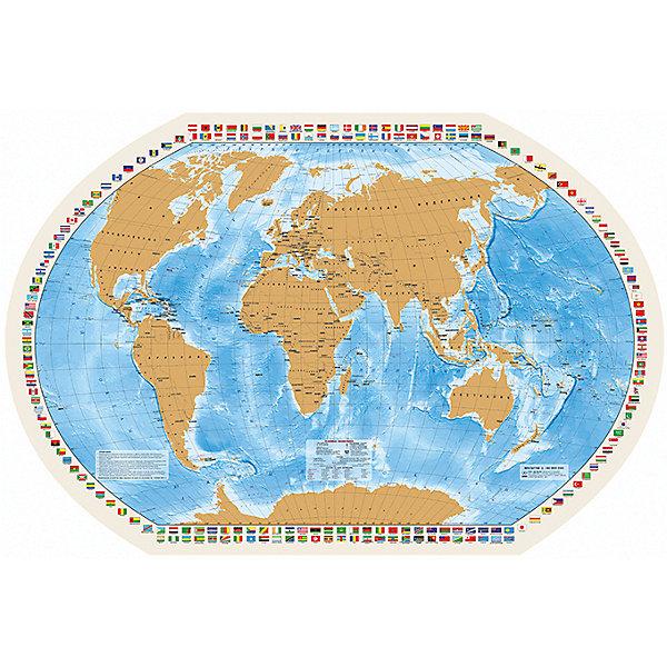 Карта со скрейч-слоем Мир моих ПутешествийАтласы и карты<br>Характеристики:<br><br>• возраст: от 3 лет;<br>• упаковка: картонный тубус;<br>• размер: 90х58 см;<br>• вес упаковки: 212 гр.;<br>• размер упаковки: 62х5,6х5,6 см;<br>• издательство: DMB;<br>• страна производитель: Россия.<br><br>«Мир моих путешествий» — карта мира с сюрпризом. Каждый раз после посещения новой страны в том месте на карте, где располагается это государство, нужно стереть защитный слой. За скрейч-слоем скрывается политическая карта страны.<br><br>«Мир моих путешествий» станет отличным и оригинальным подарком любителю путешествий. Формат карты позволяет расположить ее на столе или повесить на стену в качестве украшения. Для удобной переноски предусмотрен твердый тубус из картона.<br><br>Карту со скрейч-слоем «Мир моих Путешествий» можно купить в нашем интернет-магазине.<br>Ширина мм: 620; Глубина мм: 56; Высота мм: 56; Вес г: 212; Возраст от месяцев: 36; Возраст до месяцев: 144; Пол: Унисекс; Возраст: Детский; SKU: 7378633;