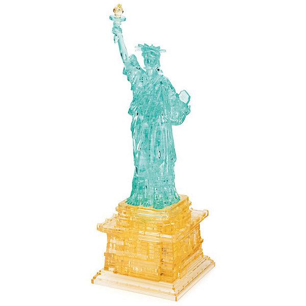 3D головоломка Статуя Свободы3D пазлы<br>Характеристики:<br><br>• возраст: от 12 лет;<br>• материал: пластик;<br>• в комплекте: 78 деталей, инструкция;<br>• сложность: 4;<br>• вес упаковки: 338 гр.;<br>• размер упаковки: 18х19х5 см;<br>• страна производитель: Китай.<br><br>Копия достопримечательности, которую знают во всем мире теперь в объемном пазле «Статуя Свободы» от Crystal Puzzle. Готовая фигура станет отличным украшением рабочего стола или полки стеллажа.<br><br>Собрать головоломку можно с помощью подбора элементов по форме и размерам или обратиться к инструкции, что облегчит задачу. Подсказка: складывать нужно начинать с пьедестала. Сборка объемного пазла развивает пространственное мышление и логику, а также ловкость рук. Игра выполнена из безопасного пластика.<br><br>3D головоломку «Статуя Свободы» можно купить в нашем интернет-магазине.<br>Ширина мм: 180; Глубина мм: 190; Высота мм: 50; Вес г: 338; Возраст от месяцев: 144; Возраст до месяцев: 2147483647; Пол: Унисекс; Возраст: Детский; SKU: 7378700;