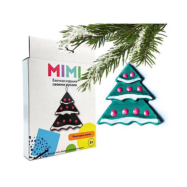 Набор создай елочную игрушку ЕлочкаНаборы из гипса<br>Характеристики:<br><br>• возраст: от 5 лет;<br>• в комплекте: гипс для художественной лепки, пресс-форма, акриловые краски, проволока, подробная инструкция;<br>• размер игрушки: 7х7 см;<br>• вес упаковки: 120 гр.;<br>• размер упаковки: 19х13,5х2,5 см;<br>• страна производитель: Россия.<br><br>Ничто так не порадует юного художника, как новогоднее украшение сделанное собственными руками! Набор для создания елочной игрушки «Елочка» от «Бумбарам» поможет ребенку проявить всю свою фантазию, разовьет творческий потенциал и научит, как обращаться с гипсом.<br><br>Чтобы сделать игрушку, нужно развести гипс и залить его в форму. Разровнять поверхность и подождать пока все высохнет. Заготовку разукрасить по своему усмотрению, а для лучшей цветопередачи наносить слои краски один за другим на высохшее покрытие.<br><br>Набор создай елочную игрушку «Елочка» можно купить в нашем интернет-магазине.<br>Ширина мм: 190; Глубина мм: 135; Высота мм: 25; Вес г: 120; Возраст от месяцев: 60; Возраст до месяцев: 2147483647; Пол: Унисекс; Возраст: Детский; SKU: 7378722;