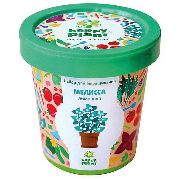 Набор для выращивания Мелисса лимоннаяВыращивание растений<br>Характеристики:<br><br>• возраст: от 3 лет;<br>• в комплекте: горшок, плодородный грунт, керамзит, семена, инструкция;<br>• объем: 500 мл;<br>• вес упаковки: 240 гр.;<br>• размер упаковки: 10х10х7 см;<br>• страна производитель: Россия.<br><br>Наборы для выращивания Happy Plant помогут освоить азы садоводства тем, кто совсем не знаком с этой деятельностью. А также станут отличным подарком для тех, кто любит цветущие растения.<br><br>В наборе есть все необходимое, чтобы посадить и вырастить мелиссу лимонную. Сама упаковка станет горшочком, а крышка — подставкой. С помощью инструкции на русском языке посев будет простым и увлекательным занятием! Выращивание повышает чувство ответственности и улучшает настроение, особенно когда появляются первые результаты.<br><br>Набор для выращивания «Мелисса лимонная» можно купить в нашем интернет-магазине.<br>Ширина мм: 100; Глубина мм: 100; Высота мм: 70; Вес г: 240; Возраст от месяцев: 36; Возраст до месяцев: 2147483647; Пол: Унисекс; Возраст: Детский; SKU: 7378726;