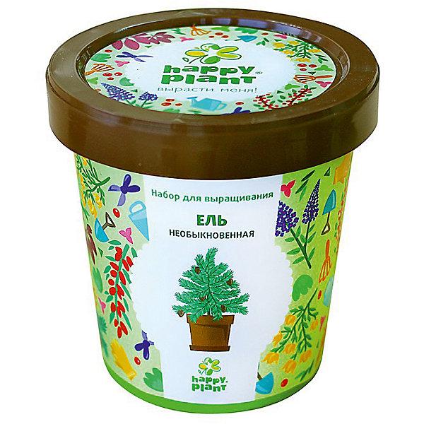 Набор для выращивания Ель необыкновеннаяВыращивание растений<br>Характеристики:<br><br>• возраст: от 3 лет;<br>• в комплекте: горшок, плодородный грунт, керамзит, семена, инструкция;<br>• объем: 500 мл;<br>• вес упаковки: 240 гр.;<br>• размер упаковки: 10х10х7 см;<br>• страна производитель: Россия.<br><br>Наборы для выращивания Happy Plant помогут освоить азы садоводства тем, кто совсем не знаком с этой деятельностью. А также станут отличным подарком для тех, кто любит мини-деревья.<br><br>В наборе есть все необходимое, чтобы посадить и вырастить ель необыновенную. Сама упаковка станет горшочком, а крышка — подставкой. С помощью инструкции на русском языке посев будет простым и увлекательным занятием! Выращивание повышает чувство ответственности и улучшает настроение, особенно когда появляются первые результаты.<br><br>Набор для выращивания «Ель необыкновенная» можно купить в нашем интернет-магазине.<br>Ширина мм: 100; Глубина мм: 100; Высота мм: 70; Вес г: 240; Возраст от месяцев: 36; Возраст до месяцев: 2147483647; Пол: Унисекс; Возраст: Детский; SKU: 7378727;