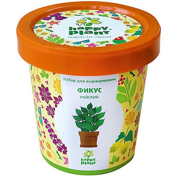 Набор для выращивания Фикус райскийВыращивание растений<br>Характеристики:<br><br>• возраст: от 3 лет;<br>• в комплекте: горшок, плодородный грунт, керамзит, семена, инструкция;<br>• объем: 500 мл;<br>• вес упаковки: 240 гр.;<br>• размер упаковки: 10х10х7 см;<br>• страна производитель: Россия.<br><br>Наборы для выращивания Happy Plant помогут освоить азы садоводства тем, кто совсем не знаком с этой деятельностью. А также станут отличным подарком для тех, кто любит мини-деревья.<br><br>В наборе есть все необходимое, чтобы посадить и вырастить фикус райский. Сама упаковка станет горшочком, а крышка — подставкой. С помощью инструкции на русском языке посев будет простым и увлекательным занятием! Выращивание повышает чувство ответственности и улучшает настроение, особенно когда появляются первые результаты.<br><br>Набор для выращивания «Фикус райский» можно купить в нашем интернет-магазине.<br><br>Ширина мм: 100<br>Глубина мм: 100<br>Высота мм: 70<br>Вес г: 240<br>Возраст от месяцев: 36<br>Возраст до месяцев: 2147483647<br>Пол: Унисекс<br>Возраст: Детский<br>SKU: 7378728