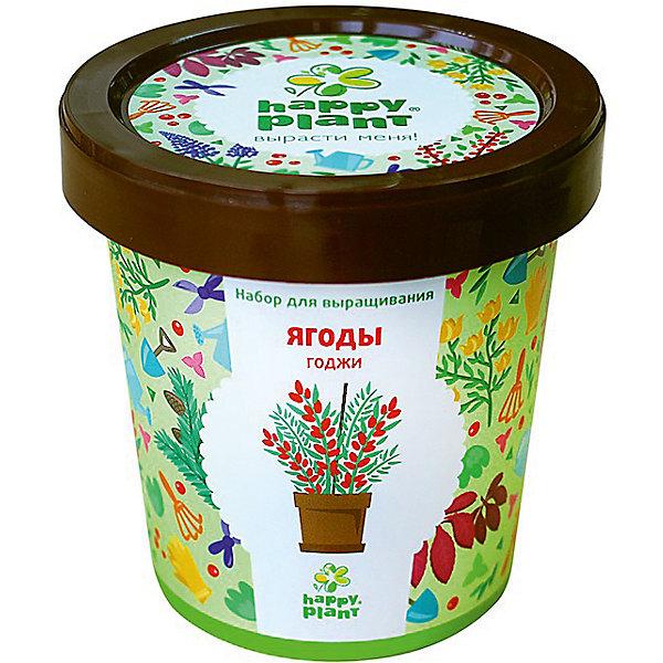 Набор для выращивания Ягоды ГоджиВыращивание растений<br>Характеристики:<br><br>• возраст: от 3 лет;<br>• в комплекте: горшок, плодородный грунт, керамзит, семена, инструкция;<br>• объем: 500 мл;<br>• вес упаковки: 240 гр.;<br>• размер упаковки: 10х10х7 см;<br>• страна производитель: Россия.<br><br>Наборы для выращивания Happy Plant помогут освоить азы садоводства тем, кто совсем не знаком с этой деятельностью. А также станут отличным подарком для тех, кто любит цветущие растения.<br><br>В наборе есть все необходимое, чтобы посадить и вырастить легендарные ягоды Годжи. Сама упаковка станет горшочком, а крышка — подставкой. С помощью инструкции на русском языке посев будет простым и увлекательным занятием! Выращивание повышает чувство ответственности и улучшает настроение, особенно когда появляются первые результаты.<br><br>Набор для выращивания «Ягоды Годжи» можно купить в нашем интернет-магазине.<br>Ширина мм: 100; Глубина мм: 100; Высота мм: 70; Вес г: 240; Возраст от месяцев: 36; Возраст до месяцев: 2147483647; Пол: Унисекс; Возраст: Детский; SKU: 7378732;