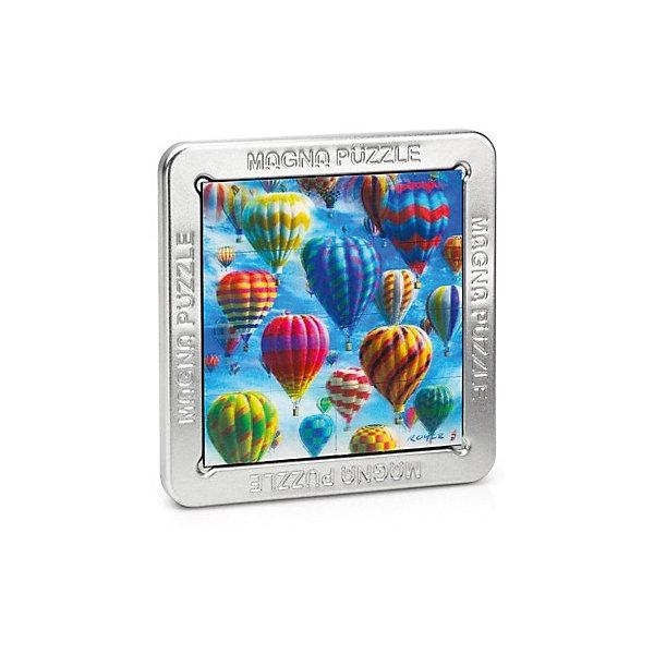 3D Magna пазл Воздушные шары3D пазлы<br>Характеристики:<br><br>• возраст: от 8 лет;<br>• материал: металл;<br>• в комплекте: 16 деталей, металлическая коробка, инструкция;<br>• вес упаковки: 200 гр.;<br>• размер упаковки: 14,5х14,5х18 см;<br>• страна производитель: Великобритания.<br><br>Яркое красочное изображение, которое нужно собрать собственными руками! Собранный 3D Magna пазл «Воздушные шары» от Cheatwell станет прекрасным дополнением к интерьеру и заворожит взгляды гостей дома.<br><br>Составить пазл не так просто, как может показаться вначале. Каждая деталь отражает объемное изображение, которое меняется под разным углом обзора. Чтобы соединить картинку воедино, понадобится вся внимательность. Облегчит задачу металлическая коробка, на которую и сложатся магнитные части головоломки.<br><br>Игра порадует любителей необычных вещей, улучшит концентрацию, внимание и ловкость рук.<br><br>3D Magna пазл «Воздушные шары» можно купить в нашем интернет-магазине.<br><br>Ширина мм: 145<br>Глубина мм: 145<br>Высота мм: 180<br>Вес г: 200<br>Возраст от месяцев: 96<br>Возраст до месяцев: 2147483647<br>Пол: Унисекс<br>Возраст: Детский<br>SKU: 7378733