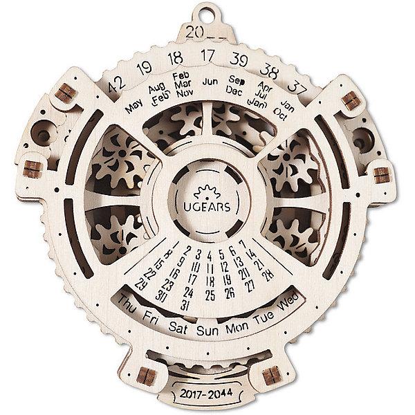 Конструктор 3D-пазл Ugears - Навигатор датДеревянные модели<br>Характеристики товара:<br><br>• количество деталей: 21;<br>• возраст: от 14 лет;<br>• материал: фанера;<br>• время сборки: 20 минут;<br>• размер модели: 10х9х2 см;<br>• размер упаковки: 18,5х27,5х0,5 см;<br>• страна бренда: Украина.<br><br>«Навигатор дат» - удивительный прибор, который легко можно создать своими руками. С помощью навигатора можно узнать на какой день недели выпадает число выбранного месяца в 2017-2044 годах. Для определения числа и дня недели нужно лишь выбрать год и месяц события. Модель собирается из 21 детали, изготовленных из качественной фанеры. Для сборки не требуются инструменты и клей. В комплект входит подробная инструкция с описанием каждого этапа сборки.<br><br>Конструктор 3D-пазл Ugears (Югерс) - Навигатор дат можно купить в нашем интернет-магазине.<br>Ширина мм: 185; Глубина мм: 275; Высота мм: 5; Вес г: 88; Возраст от месяцев: 168; Возраст до месяцев: 2147483647; Пол: Унисекс; Возраст: Детский; SKU: 7378823;