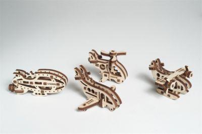 UGEARS Конструктор 3D-пазл Ugears - Фиджет Самолёты