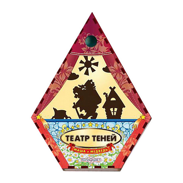 Театр теней Маша и медведь цветнойКукольный театр<br>Характеристики:<br><br>• упаковка: плёнка.;<br>• размер упаковки: 22х17 х5см;<br>• состав: дерево, магнит;<br>• вес: 250г.;<br>• для детей в возрасте: от 3лет;<br>• страна производитель: Россия.<br><br>Настольная игра «Маша и медведь» из серии «Театра теней» от компании специализирующейся на создании настольных игр бренда «Полноцвет» станет хорошим подарком для малышей и детей младшего школьного возраста. Она выполнена из высококачественных сортов фанеры и покрыта красками.  В комплект входят девять фигурок персонажей сказки «Маша и медведь».<br><br>Игра создана для детишек, только начинающих знакомство с театром. Удобная форма и небольшие размеры позволят ребёнку устраивать представления для друзей и родителей в любом месте.<br>Играя дети знакомятся с сюжетами русских народных сказок или самостоятельно придумывают разные истории. Любимые герои оживают на сцене, что вдохновляет ребёнка и позволяет развивать грамотность речи, память, воображение, мелкую моторику, а также весело провести время в компании.<br><br>Настольную игру «Маша и медведь» из серии «Театра теней» можно приобрести в нашем интернет- магазине.<br>Ширина мм: 50; Глубина мм: 220; Высота мм: 170; Вес г: 250; Возраст от месяцев: 36; Возраст до месяцев: 84; Пол: Унисекс; Возраст: Детский; SKU: 7379836;