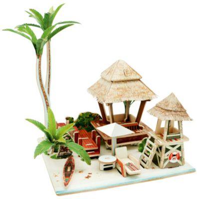 Сборная модель Robotime Бунгало на Бали