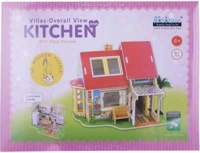 Сборная модель Robotime Дом с кухней