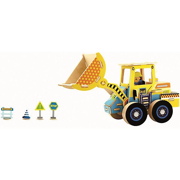 Сборная модель Robotime Грузоподъемник3D пазлы<br>Характеристики товара:<br><br>• возраст: от 3 лет;<br>• материал: дерево;<br>• в комплекте: 44 деталей, инструкция;<br>• размер упаковки: 30х22х1 см;<br>• вес упаковки: 420 гр.;<br>• страна производитель: Китай.<br><br>Сборная модель Robotime (Роботайм) Грузоподъемник -  это занимательное хобби, в котором ребенок сможет не только сам собрать грузоподъемник, но и раскрасить темперными красками, попробовав себя в роли дизайнера. <br><br>Помимо творческого мышления, сборка поможет развить логику, внимательность и усидчивость.<br><br>Модель входит в серию «Строительная техника» Robotime (Роботайм) с бумажным покрытием. Собрав всю серию ребенок познакомится с детальными копиями настоящей строительной техники.<br> <br>Детали для сборки расположены на двух листах шлифованной фанеры. Сборка не требует склеивания. Однако, при желании, для того чтобы усилить устойчивость, можно проклеивать места соединения.<br><br>Сборную модель Robotime (Роботайм) Грузоподъемник можно купить в нашем интернет-магазине.<br>Ширина мм: 300; Глубина мм: 225; Высота мм: 6; Вес г: 420; Возраст от месяцев: 72; Возраст до месяцев: 2147483647; Пол: Унисекс; Возраст: Детский; SKU: 7379887;