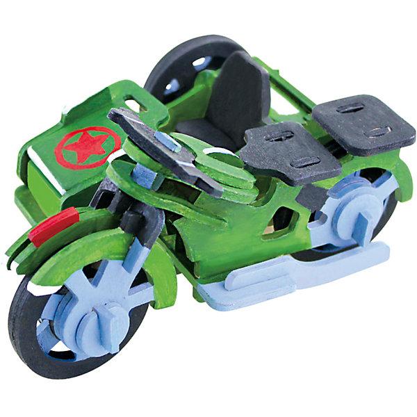 Сборная модель Robotime Трицикл3D пазлы<br>Характеристики товара:<br><br>• возраст: от 3 лет;<br>• материал: дерево;<br>• в комплекте: 42 детали, инструкция;<br>• размер упаковки: 23х19х1 см;<br>• вес упаковки: 250 гр.;<br>• страна производитель: Китай.<br><br>Сборная модель Robotime (Роботайм) Трицикл -  это занимательное хобби, в котором ребенок сможет не только сам собрать маленькую копию настоящего трицикла, но и раскрасить темперными красками, попробовав себя в роли дизайнера. <br><br>Помимо творческого мышления, сборка поможет развить логику, внимательность и усидчивость.<br><br>Модель входит в серию «Техника» Robotime (Роботайм) с бумажным покрытием. Собрав всю серию ребенок познакомится с увлекательной разнообразной техникой<br> <br>Детали для сборки расположены на двух листах шлифованной фанеры. Сборка не требует склеивания. Однако, при желании, для того чтобы усилить устойчивость, можно проклеивать места соединения.<br><br>Сборную модель Robotime (Роботайм) Трицикл можно купить в нашем интернет-магазине.<br>Ширина мм: 230; Глубина мм: 185; Высота мм: 6; Вес г: 250; Возраст от месяцев: 36; Возраст до месяцев: 2147483647; Пол: Унисекс; Возраст: Детский; SKU: 7379904;