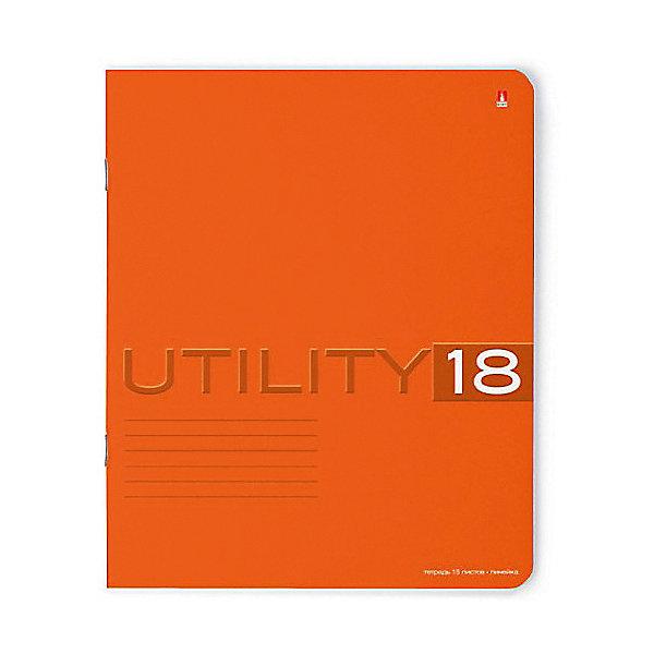 Тетрадь Unility 18 листов, линейка, цвет  , 10 шт.Бумажная продукция<br>Характеристики:<br><br>• количество: 10 шт.;<br>• формат: А5;<br>• внутренний блок: 18 листов, линия, с полями;<br>• обложка: итальянский картон тонированный в массе;<br>• плотность картона: 220 гр./кв.м.;<br>• плотность бумаги: 60 гр./кв.м.;<br>• тип крепления: скрепка;<br>• обложка  рисунок в ассортименте.<br><br>Utility от компании «Альт» — линейка тетрадей в линию в лаконичном стиле. Качественные бумажные листы с красными полями соответствуют школьным стандартам письма. Чернила отлично впитываются и практически не размазываются по бумаге.<br><br>Обложка выполнена из дизайнерского итальянского картона выкрашенного в массе, а это значит, что краска с картона не сойдет ни при каких условиях. Лицевая сторона декорирована рельефным тиснением. Цвет обложки может отличаться от представленного на фото.<br><br>Тетрадь 18 л. лин. «Utility»  рисунок в ассортименте можно купить в нашем интернет-магазине.<br>Ширина мм: 204; Глубина мм: 164; Высота мм: 20; Вес г: 500; Возраст от месяцев: 60; Возраст до месяцев: 2147483647; Пол: Унисекс; Возраст: Детский; SKU: 7379973;