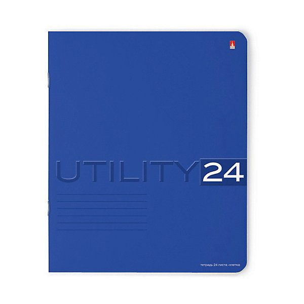 Тетрадь Unility 24 листов, клетка, цвет  , 10 шт.Бумажная продукция<br>Характеристики:<br><br>• количество: 10 шт.;<br>• формат: А5;<br>• внутренний блок: 24 листа, клетка, с полями;<br>• обложка: итальянский картон тонированный в массе;<br>• плотность картона: 220 гр./кв.м.;<br>• плотность бумаги: 60 гр./кв.м.;<br>• тип крепления: скрепка;<br>• обложка  рисунок в ассортименте.<br><br>Utility от компании «Альт» — линейка тетрадей в клетку в лаконичном стиле. Качественные бумажные листы с красными полями соответствуют школьным стандартам письма. Чернила отлично впитываются и практически не размазываются по бумаге.<br><br>Обложка выполнена из дизайнерского итальянского картона выкрашенного в массе, а это значит, что краска с картона не сойдет ни при каких условиях. Лицевая сторона декорирована рельефным тиснением. Цвет обложки может отличаться от представленного на фото.<br><br>Тетрадь 24 л. кл. «Utility»  рисунок в ассортименте можно купить в нашем интернет-магазине.<br>Ширина мм: 204; Глубина мм: 164; Высота мм: 30; Вес г: 620; Возраст от месяцев: 60; Возраст до месяцев: 2147483647; Пол: Унисекс; Возраст: Детский; SKU: 7379976;