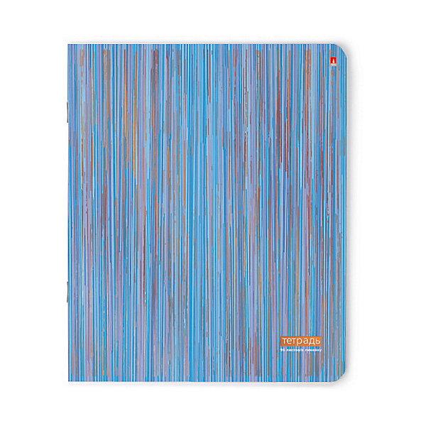 ТЕТРАДЬ 96Л.  ПОЛОСКИ линейкаБумажная продукция<br>Характеристики:<br><br>• количество: 1 шт.;<br>• формат: А5;<br>• внутренний блок: 96 листов, линия, с полями;<br>• плотность обложки: 190 гр./кв.м.;<br>• плотность бумаги: 60 гр./кв.м.;<br>• тип крепления: скрепка.<br><br>Тетрадь в линию с интересным дизайном от компании «Альт» смотрится необычно и ярко благодаря блестящим полоскам с тиснением золотой фольгой. Углы тетради закругленные, чтобы избежать заломов. Плотный целлюлозный картон обложки защищает все листы от повреждений. Разлинованная страница выглядит идентично с обеих сторон. Эта тетрадь станет отличным помощником школьнику.<br><br>Тетрадь 96 л. «Полоски» линейка можно купить в нашем интернет-магазине.<br><br>Ширина мм: 205<br>Глубина мм: 162<br>Высота мм: 45<br>Вес г: 195<br>Возраст от месяцев: 60<br>Возраст до месяцев: 2147483647<br>Пол: Унисекс<br>Возраст: Детский<br>SKU: 7380022