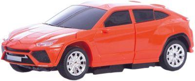 Радиоуправляемый робот-трансформер 1Toy Трансботы Машина, красный