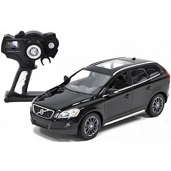 Радиоуправляемая машинка Rastar Volvo XC60 1:14, чернаяРадиоуправляемые машины<br>Характеристики:<br><br>• возраст: от 3 лет<br>• комплектация: машина Volvo XC60, пульт управления<br>• материал: пластик, элементы из металла, резина<br>• размер машины: 33х15,3х12,1 см.<br>• масштаб 1:14<br>• максимальная скорость: 12 км/ч.<br>• дальность действия пульта: 15 - 45 м.<br>• время зарядки: 4 – 5 часов<br>• частота управления: 27 MHz<br>• батарейки: 5 типа AA/LR6 1.5V (пальчиковые), 1 типа «Крона» 9V<br>• наличие батареек: не входят в комплект<br>• упаковка: картонная коробка блистерного типа<br>• размер упаковки: 45,5x21,5x19,5 см.<br><br>Радиоуправляемая машина от компании Rastar представляет собой уменьшенную копию настоящего автомобиля Volvo XC60. Модель автомобиля обладает неповторимым провокационным стилем и спортивным характером. А серьезные габариты придают реалистичность в управлении.<br><br>Машина отличается потрясающей маневренностью, динамикой и покладистостью. Играть с ней очень легко и весело: специальной формы пульт удобно ложится в ладонь, а назначения всех кнопок интуитивно понятны. Машина может двигаться вперед, назад, вправо и влево, совершая повороты и развороты, при движении назад у нее загораются стоп-сигналы, при движении вперед — горят фары.<br><br>Машину volvo xc60, 1:14, р/у, RASTAR , черную можно купить в нашем интернет-магазине.<br><br>Ширина мм: 210<br>Глубина мм: 460<br>Высота мм: 200<br>Вес г: 1630<br>Возраст от месяцев: 36<br>Возраст до месяцев: 2147483647<br>Пол: Мужской<br>Возраст: Детский<br>SKU: 7410499