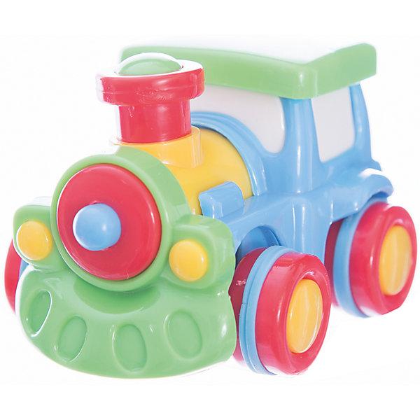 Мини-машинка Little Tikes Моторы Синий паровозикМашинки<br>Характеристики товара:<br><br>• размер игрушки: 6,7х6,4х8,9 см;<br>• возраст: от 1 года;<br>• материал: пластик;<br>• размер упаковки: 6х8,5х6,5 см;<br>• страна бренда: США.<br><br>Паровозик Little Tikes порадует каждого малыша. Игрушка выполнена в ярких цветах, изготовлена из прочного, нетоксичного пластика. Благодаря специальной технологии «Push and Go» она передвигается практически бесшумно. Все края паровозика закруглены. Небольшой размер игрушки позволяет удобно расположить ее в руке. Игра с машинками способствует развитию мелкой моторики, тактильных ощущений, цветовосприятия и воображения.<br><br>Паровозик синий, Little Tikes (Литтл Тайкс) можно купить в нашем интернет-магазине.<br>Ширина мм: 65; Глубина мм: 85; Высота мм: 60; Вес г: 118; Возраст от месяцев: 36; Возраст до месяцев: 2147483647; Пол: Мужской; Возраст: Детский; SKU: 7411019;