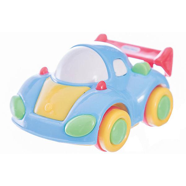 Мини-машинка Little Tikes Моторы Синяя машинкаМашинки<br>Характеристики товара:<br><br>• размер игрушки: 6,7х6,4х8,9 см;<br>• возраст: от 1 года;<br>• материал: пластик;<br>• размер упаковки: 6х8,5х6,5 см;<br>• страна бренда: США.<br><br>Синяя машинка Little Tikes станет отличным дополнением к автопарку малыша. Игрушка выполнена в ярких цветах, привлекающих внимание ребенка. Специальная технология «Push and Go» позволяет машинке передвигаться плавно и практически бесшумно. Игрушка не содержит острых углов и имеет форму, удобную для детских ручек. Игра с машинками способствует развитию мелкой моторики, тактильных ощущений, цветовосприятия и воображения.<br><br>Машинку синюю, Little Tikes (Литтл Тайкс) можно купить в нашем интернет-магазине.<br>Ширина мм: 65; Глубина мм: 85; Высота мм: 60; Вес г: 118; Возраст от месяцев: 36; Возраст до месяцев: 2147483647; Пол: Мужской; Возраст: Детский; SKU: 7411022;