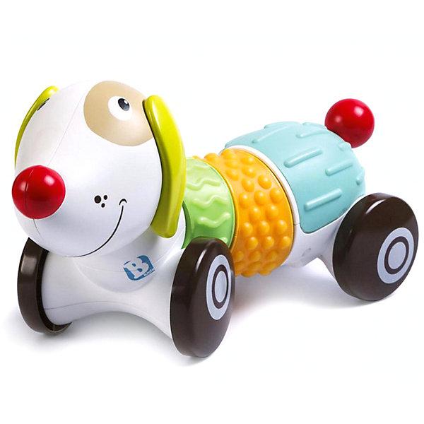 Интерактивная игрушка Bkids ЩенокИнтерактивные игрушки для малышей<br>Характеристики:<br><br>• возраст: от 9 месяцев<br>• материал: пластик<br>• батарейки: 3 типа ААА<br>• наличие батареек: входят в комплект<br>• упаковка: коробка<br>• размер упаковки: 30,6х20,5х12,7 см.<br>• вес: 700 гр.<br><br>Игрушка «Щенок» Sensory от B kids (Би кидс) – это забавный пес, управлять которым могут родители малыша с помощью приложения в своем смартфоне.<br><br>Интерактивный друг имеет обширный развивающий функционал для самых маленьких. Он может ходить вперед или назад, стимулируя ребенка ползти или бежать за ним. Щенок говорит или поет во время движения, с ним очень весело.<br><br>А еще он входит в линейку Sensory от B kids: для всех игрушек этой серии характерно использование в качестве составляющих крупных деталей с различной текстурой – так малыши могут научиться распознавать тактильные ощущения; у щенка таких блоков три.<br><br>Вы можете скачать официальное бесплатное приложение B kids для Android или iOS.<br><br>Развивающую игрушку, Bkids (БиКидс) можно купить в нашем интернет-магазине.<br>Ширина мм: 30; Глубина мм: 20; Высота мм: 12; Вес г: 700; Возраст от месяцев: 9; Возраст до месяцев: 2147483647; Пол: Унисекс; Возраст: Детский; SKU: 7411066;