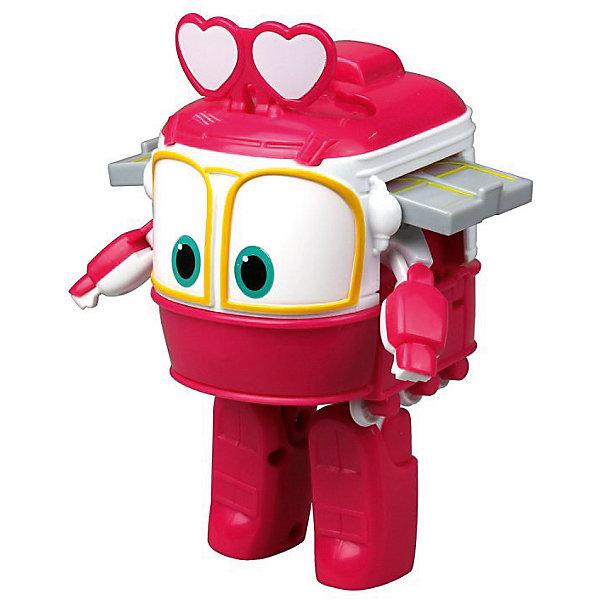 Трансформер Сэлли 10 смТрансформеры-игрушки<br>Характеристики товара:<br><br>• возраст: от 3 лет;<br>• материал: пластик;<br>• высота робота: 10 см;<br>• размер упаковки: 12,7х12,7х17,1 см;<br>• вес упаковки: 140 гр.;<br>• страна производитель: Китай.<br><br>Трансформер «Сэлли» Silverlit представляет собой героя из мультсериала «Роботы-поезда». Забавные паровозики в мультсериале всегда готовы прийти на помощь тем, кто попал в беду. <br><br>Паровозик способен превращаться в робота. Трансформация происходит легко и быстро и не вызовет у ребенка трудностей. Игрушка выполнена из качественного безопасного пластика.<br><br>Трансформера «Сэлли» Silverlit можно приобрести в нашем интернет-магазине.<br>Ширина мм: 108; Глубина мм: 89; Высота мм: 152; Вес г: 140; Возраст от месяцев: 36; Возраст до месяцев: 2147483647; Пол: Женский; Возраст: Детский; SKU: 7414581;