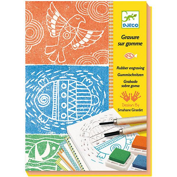 Набор для творчества Изготовления штампов, DjecoДетские печати и штампы<br>Превосходный набор для детского творчества Изготовление штампов от французского производителя Djeco станет увлекательной игрой для детей в возрасте от 9 до 15 лет! Красивый творческий набор для детей, который поможет развить творческий потенциал ребенка, привить любовь к творчеству, аккуратность, усидчивость и внимательность. Прекрасные произведения создаются при помощи шаблона-основы, чернил и кисточки. В набор входит: - 16 карточек, - 4 резиновых шаблона-основы (7 х 9.5 см), - 2 кисточки разного диаметра, - 3 чернильных штампа разных цветов, - пошаговая инструкция. Красочная подробная инструкция с примерами подскажет детям, как нужно создавать изображения, однако, можно следовать и собственному воображению и придумывать совершенно особенные картинки. Набор продается в красивой подарочной коробке. Все детали набора выполнены аккуратно и качественно и безопасны для детей. Купить набор для творчества Изготовление штампов Djeco в нашем интернет магазине вы можете уже сегодня, с доставкой в удобное для вас время в Москву, Санкт-Петербург и другие регионы России.<br>Ширина мм: 40; Глубина мм: 165; Высота мм: 230; Вес г: 670; Возраст от месяцев: 36; Возраст до месяцев: 2147483647; Пол: Унисекс; Возраст: Детский; SKU: 7414626;