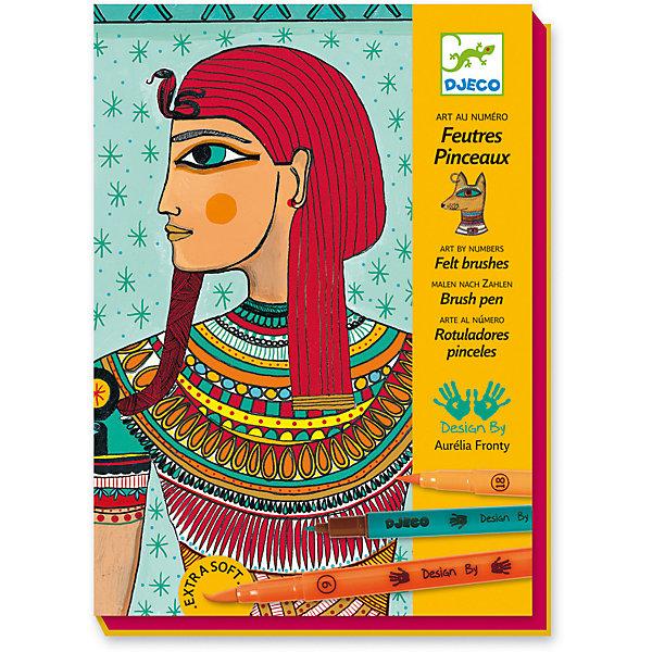 Набор для творчества Египетское искусство, DjecoНаборы для раскрашивания<br>Великолепная раскраска Египетское искусство от компании Djeco станет прекрасным подарком для каждого творческого ребенка. Необыкновенно красивые картины с египетскими мотивами, которые ребенок сможет создавать сам, следуя пошаговым рекомендациям, станут реализацией его творческого потенциала и помогут ему всей душой полюбить изобразительное искусство. В этом детям помогут двусторонние фломастеры: с одной стороны кончик фломастера обычный, с другой – в форме тонкой кисточки. Картинки получатся поистине сказочными. Все изображения в стиле модерн созданы современными художниками. Наборы для творчества с раскрасками способствуют развитию творческих способностей и воображения ребенка, учат его внимательности и усидчивости. В набор входят: 4 листа для раскрашивания, 7 двусторонних фломастеров, пошаговая инструкция. Набор продается в красочной подарочной упаковке. Французская компания Джеко производит развивающие игрушки и игры для детей, а также наборы для творчества и детали интерьера детской комнаты. Все товары Джеко отличаются высочайшим качеством, необычной идеей исполнения. Изображения и дизайн специально разрабатываются молодыми французскими художниками.<br><br>Ширина мм: 230<br>Глубина мм: 170<br>Высота мм: 40<br>Вес г: 540<br>Возраст от месяцев: 36<br>Возраст до месяцев: 2147483647<br>Пол: Унисекс<br>Возраст: Детский<br>SKU: 7414632