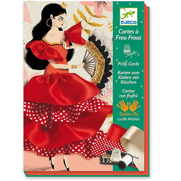 Набор для творчества Фламенко, DjecoКартины пайетками<br>Набор для творчества Фламенко от французского производителя Djeco (Джеко) непременно понравится юным рукодельницам, и поможет создать великолепные панно, которыми можно украсить детскую комнату. В набор входят 3 картинки с изображением красивых девушек, которые нужно дополнить разноцветными атласными лентами и текстилем. Получаются великолепные объемные панно, которыми можно украсить детскую комнату или подарить маме или подружке. Подробная инструкция поможет сделать творческий процесс легким и приятным. Набор поможет развить навыки шитья, усидчивость, воображение и творческое мышление. Набор содержит: - 3 картинки с изображением девушек, - комплект лент и текстиля для украшения, - 1 катушка белых ниток, - 2 нитевдевателя, - 1 иглу, - 1 наперсток, - подробную инструкцию с иллюстрациями. Размер одной картинки 15 х 21 см. Набор для творчество продается в красивой подарочной коробке. Рекомендован для детей от 7 до 13 лет. Купить набор для творчества Фламенко от Djeco (Джеко) можно в нашем интернет магазине Konik.ru с доставкой в удобное для Вас время почтой или курьерской компанией!<br>Ширина мм: 40; Глубина мм: 230; Высота мм: 170; Вес г: 410; Возраст от месяцев: 36; Возраст до месяцев: 2147483647; Пол: Унисекс; Возраст: Детский; SKU: 7414640;