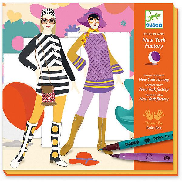 Набор для творчества Ателье, DjecoНаборы стилиста и дизайнера<br>Превосходный набор для творчества Ателье от французского производителя Djeco поможет раскрыть творческий потенциал вашего ребенка! Детям непременно придется по вкусу этот замечательный набор для творчества. С его помощью они смогут раскрасить множество изображений одежды по своему вкусу. Готовые комплекты можно примерить на модели и украсить наклейками. С помощью этого набора девочки получат навыки комбинирования одежды для создания различных образов. В набор входит: - 32 карточки с моделями для одежды, - 7 листов с изображениями деталей одежды, - 2 листа с изображениями аксессуаров, - 7 фломастеров и карандаш. Набор продается в красивой подарочной коробке. Все детали набора выполнены аккуратно и качественно и безопасны для детей. Купить набор для творчества Ателье Djeco в нашем интернет магазине вы можете уже сегодня, с доставкой в удобное для вас время в Москву, Санкт-Петербург и другие регионы России.<br>Ширина мм: 14; Глубина мм: 233; Высота мм: 230; Вес г: 648; Возраст от месяцев: 36; Возраст до месяцев: 2147483647; Пол: Унисекс; Возраст: Детский; SKU: 7414646;