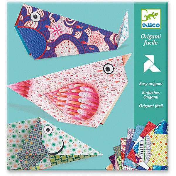 Купить Оригами Большие животные , Djeco, Франция, Унисекс