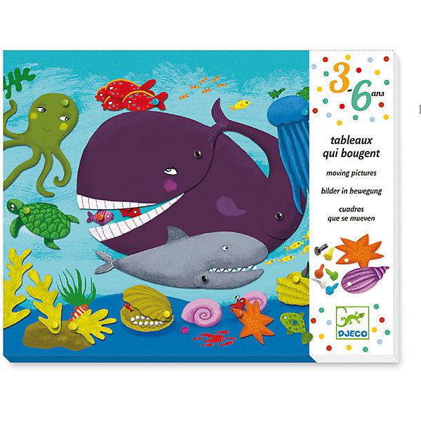 Набор для творчества с кнопками «Зверюшки», DjecoБумага<br>Набор для творчества с кнопками Зверюшки. Дети будут в восторге! С помощью разноцветных кнопок и множества деталей можно создавать настоящие динамичные картинки. Можно не только прикреплять персонажа или растение к фону, но и придавать им движение. Например, у лисы виляет хвостик, у кита открывается пасть. Играть с таким набором никогда не надоедает! Размер каждой картинки-фона 23 х 25 см. В набор входит: - 4 картинки-фона с дырочками, - 4 конверта с подвижными деталями (99 шт), - разноцветные кнопки (84 шт), - пошаговая инструкция.<br><br>Ширина мм: 240<br>Глубина мм: 300<br>Высота мм: 40<br>Вес г: 780<br>Возраст от месяцев: 36<br>Возраст до месяцев: 2147483647<br>Пол: Унисекс<br>Возраст: Детский<br>SKU: 7414674