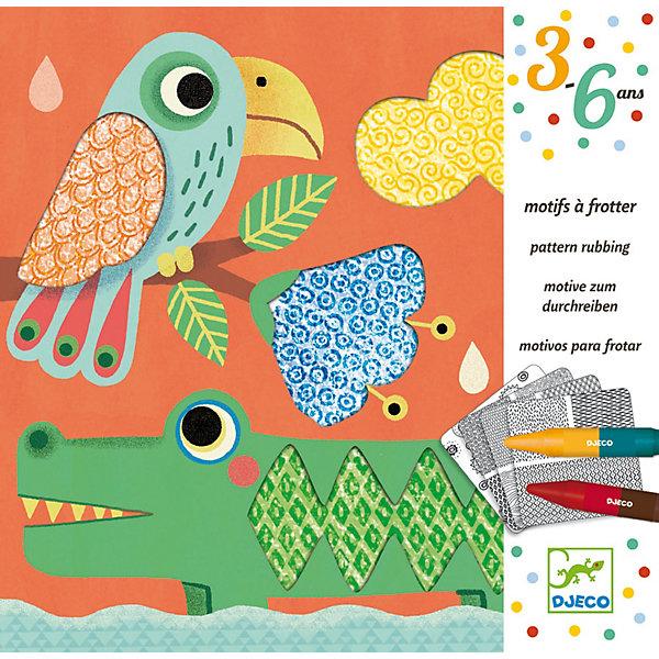 Набор для творчества Друзья Магали, DjecoНаборы для раскрашивания<br>Набор для творчества Друзья Магали от компании Djeco (Джеко) - превосходный подарок для каждого творческого ребенка, с помощью которого он сможет самостоятельно создать необычные картины. Набор состоит из 4 картинок-конвертов с изображениями забавных животных, а также 4 рельефных листочков и 20 листов с отпечатанными формами. С помощью восковых мелков и рельефных листочков, ребенок должен перенести узор на листы с формами. После этого, вставив лист в конверт-картинку, малыш увидит, какими красочными и необычными получатся изображения. В наборе: - 4 картинки размером 20 х 20 см, - 4 рельефных листа с узорами, - 20 листов с напечатанными геометрическими фигурами, - 4 двусторонних восковых мелка, - инструкция с примерами. Наборы для творчества с раскрасками способствуют развитию творческих способностей и воображения ребенка, учат его внимательности и усидчивости. Набор продается в красочной подарочной упаковке. Французская компания Джеко производит развивающие игрушки и игры для детей, а также наборы для творчества и детали интерьера детской комнаты. Все товары Джеко отличаются высочайшим качеством, необычной идеей исполнения. Изображения и дизайн специально разрабатываются молодыми французскими художниками.<br>Ширина мм: 40; Глубина мм: 234; Высота мм: 231; Вес г: 573; Возраст от месяцев: 36; Возраст до месяцев: 2147483647; Пол: Унисекс; Возраст: Детский; SKU: 7414677;