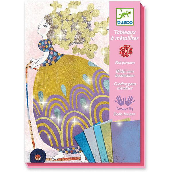 Набор для творчества «Милашка», DjecoБумага<br>Набор для творчества Милашка от французского производителя Djeco (Джеко) – необычный творческий набор с металлизированной фольгой, который позволит девочке создать красивые художественные картины. В наборе девочка найдет все необходимое для того, чтобы создать красочные. Набор с блестками и картинками надолго увлечет ребенка и позволит проявить творческие способности. Набор основан на технике переложения тонкой фольги на клейкие части картинок. Получившимися картинками можно украсить детскую комнату ребенка или же собрать свой творческий альбом. Наборы для творчества Djeco продаются в ярких красочных коробках и идеально подходят для подарка. Все детали набора изготовлены из высококачественных и гипоаллергенных материалов. Все изображения Djeco созданы современными французскими художниками. В наборе: 4 картинки размером 21 х 15 см с надрезанным липким слоем, 15 листов металлизированной фольги, 1 инструмент для переложения фольги, подробная инструкция. Наборы для детского творчества развивают фантазию, воображение и творческие способности ребенка, учат его внимательности и усидчивости. Купить набор для творчества Милашка 9513 от Djeco Джеко вы можете в интернет магазине konik.ru с доставкой в любое удобное для вас время.<br>Ширина мм: 230; Глубина мм: 170; Высота мм: 40; Вес г: 410; Возраст от месяцев: 36; Возраст до месяцев: 2147483647; Пол: Унисекс; Возраст: Детский; SKU: 7414692;