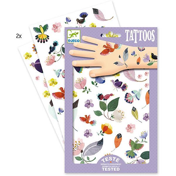 Татуировки Перышки, DjecoПереводные тату<br>Детские татуировки для ребенка Перышки от французской компании Djeco придутся по душе маленьким модникам и сделают их образ необычным и интересным. Татуировки легко приклеиваются и отклеиваются с кожи ребенка, как наклейки. Они дерматологически протестированы и безопасны для ребенка, не раздражают кожу. В комплекте: 2 листа с татуировками в виде красивых перышек и птичек. Украшение себя яркими татуировками станет отличным развлечением для детской вечеринки или веселой игры с друзьями.  Набор продается в подарочной упаковке. У нас вы можете купить татуировки для ребенка Перышки от французской компании Djeco (Джеко) по самой привлекательной цене с доставкой по всей России.<br>Ширина мм: 3; Глубина мм: 147; Высота мм: 230; Вес г: 39; Возраст от месяцев: 36; Возраст до месяцев: 2147483647; Пол: Унисекс; Возраст: Детский; SKU: 7414702;