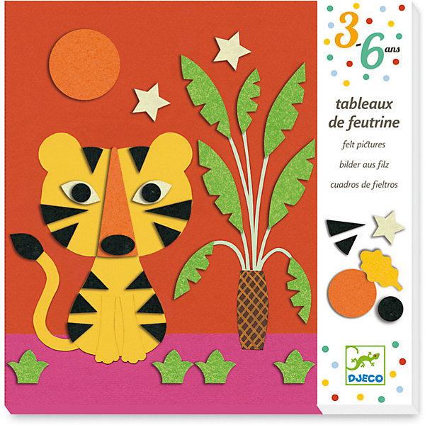 Набор для творчества Коллаж Природа, DjecoАппликации из бумаги<br>Набор для творчества Коллаж Природа от французского производителя Джеко - превосходный увлекательный набор, с которым дети смогут самостоятельно сделать 4 ярких картинки-аппликации с войлочными деталями. Красочные и необычные аппликации способствуют развитию творческого мышления у детей. Фон икрупные детали аппликации выполнены из плотного ламинированного картона.Также в аппликации используется войлок, которым необходимо выделить отдельные детали картинок. Готовые картинки можно вставить в рамочки и украсить ими детскую комнату или же подарить родным и друзьям. В набор входит: - 4 картонных картинки - фона, - 114 самоклеящихся детали из войлока, - пошаговая инструкция. Для детей от 3 до 6 лет. Купить набор для творчества Коллаж Природа от французского производителя Джеко (Djeco) вы можете у официального поставщика в России с доставкой.<br>Ширина мм: 32; Глубина мм: 214; Высота мм: 215; Вес г: 411; Возраст от месяцев: 36; Возраст до месяцев: 2147483647; Пол: Унисекс; Возраст: Детский; SKU: 7414745;
