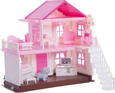 Дом Для Мегги Shantou Gepai, С Куклой, Мебелью И Аксессуарами. фото-1
