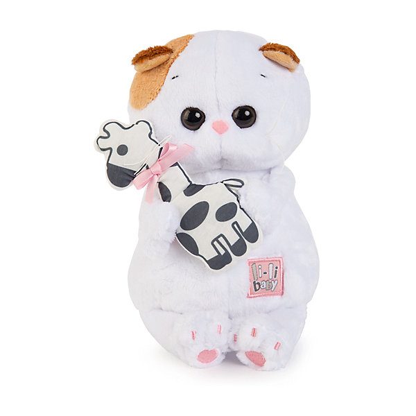 Мягкая игрушка Budi Basa Кошка Ли-ли Baby с жирафиком, 20смМягкие игрушки-кошки<br>Характеристики товара:<br><br>• возраст: от 3 лет;<br>• материал: текстиль, искусственный мех;<br>• высота игрушки: 20 см;<br>• размер упаковки: 21,5х15х11 см;<br>• вес упаковки: 240 гр.;<br>• страна производитель: Россия.<br><br>Мягкая игрушка «Ли-Ли Baby с жирафиком» Budi Basa — очаровательная пушистая белоснежная кошечка с большими глазками и оранжевыми ушками. В лапках Ли-Ли держит игрушку в виде жирафика, сшитого вручную из мягкого хлопка. Игрушка выполнена из качественного безопасного материала, настолько приятного и мягкого, что ребенок будет брать с собой котенка в кроватку и спать в обнимку.<br><br>Мягкую игрушку «Ли-Ли Baby с жирафиком» Budi Basa можно приобрести в нашем интернет-магазине.<br><br>Ширина мм: 215<br>Глубина мм: 150<br>Высота мм: 110<br>Вес г: 240<br>Возраст от месяцев: 36<br>Возраст до месяцев: 2147483647<br>Пол: Унисекс<br>Возраст: Детский<br>SKU: 7417242