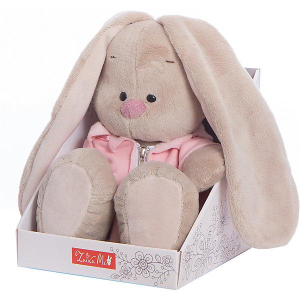 Зайка Ми в розовой меховой курточке (большая)Мягкие игрушки зайцы и кролики<br>Характеристики товара:<br><br>• возраст: от 3 лет;<br>• материал: текстиль, искусственный мех;<br>• высота игрушки: 23 см;<br>• размер упаковки: 18х18х16,5 см;<br>• вес упаковки: 380 гр.;<br>• страна производитель: Россия.<br><br>Мягкая игрушка «Зайка Ми в розовой меховой курточке» Budi Basa — очаровательный пушистый зайчонок с длинными ушками. На Зайке одета меховая курточка на молнии. Игрушка выполнена из качественного безопасного материала, настолько приятного и мягкого, что ребенок будет брать с собой зайку в кроватку и спать в обнимку.<br><br>Мягкую игрушку «Зайка Ми в розовой меховой курточке» Budi Basa можно приобрести в нашем интернет-магазине.<br>Ширина мм: 180; Глубина мм: 165; Высота мм: 180; Вес г: 380; Возраст от месяцев: 36; Возраст до месяцев: 2147483647; Пол: Унисекс; Возраст: Детский; SKU: 7417248;